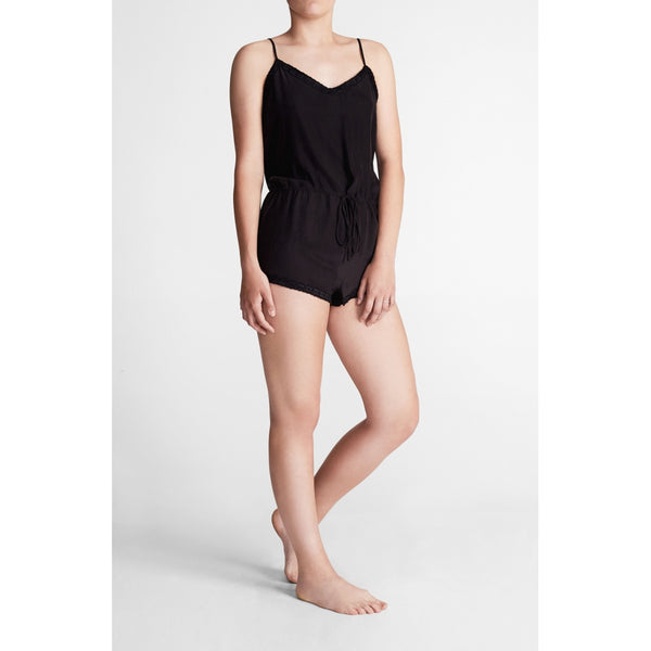 lulu's drawer Shawn playsuit Bodysuit Black