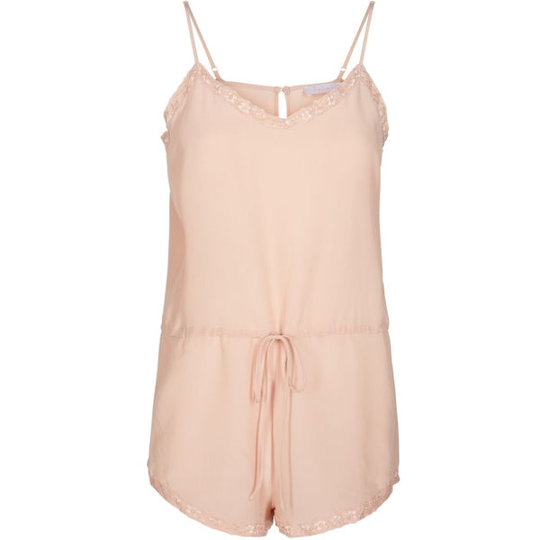 lulu's drawer Shawn playsuit Sleepwear Blush