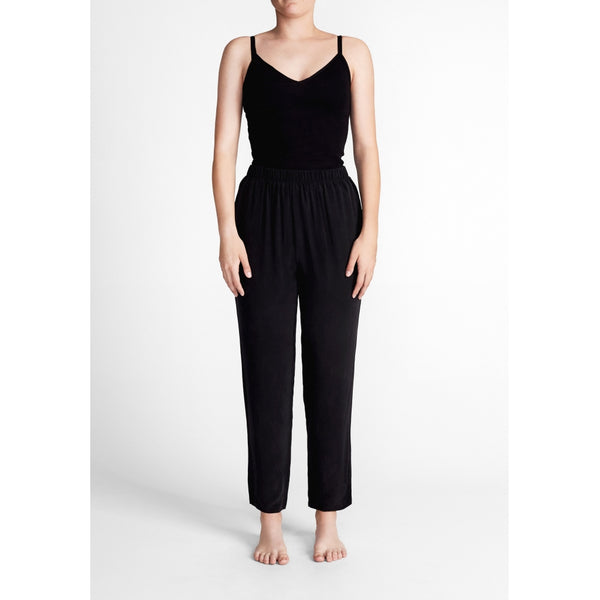 lulu's drawer Shiloh hose Pants Black