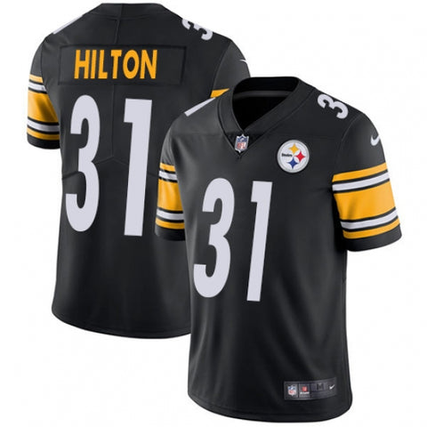 Nike Youth Pittsburgh Steelers Mike Hilton Limited Player Jersey Black