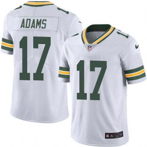 Nike Youth Green Bay Packers Davante Adams Limited Player Jersey White - Fan Gear Nation