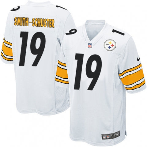 Nike Men's Pittsburgh Steelers JuJu Smith-Schuster Game Jersey White