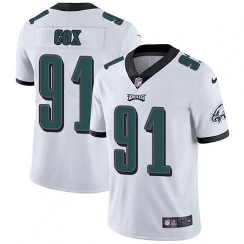 Nike Youth Philadelphia Eagles Fletcher Cox Limited Player Jersey White - Fan Gear Nation