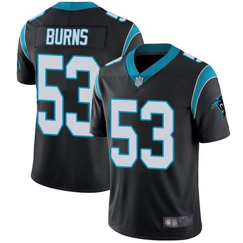 Men's Brian Burns Carolina Panthers Game Vapor Jersey Black - Fan Gear Nation