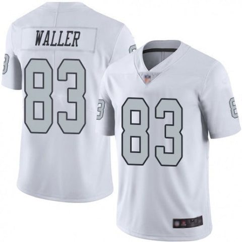 Men's Las Vegas Raiders Darren Waller Game Vapor Jersey White - Fan Gear Nation