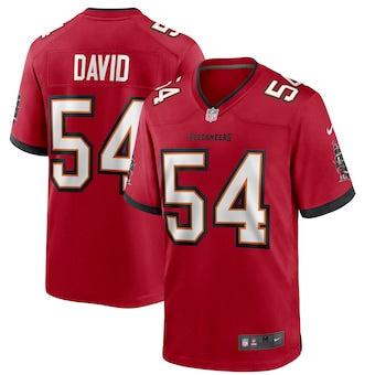 Men's Tampa Bay Buccaneers Lavonte David Game Vapor Jersey Red - Fan Gear Nation