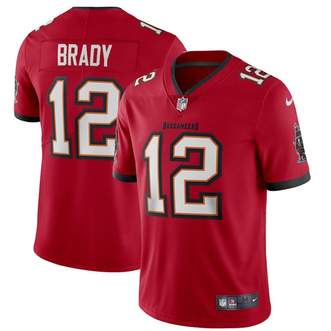 Men's Tampa Bay Buccaneers Tom Brady Game Vapor Limited Jersey Red - Fan Gear Nation