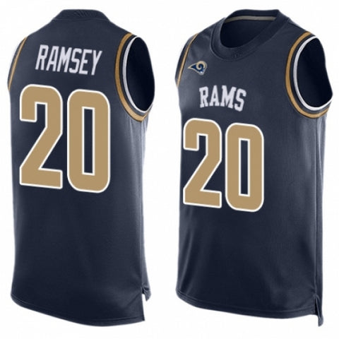 Men's Los Angeles Rams Jalen Ramsey Limited Player Jersey Navy Blue - Fan Gear Nation