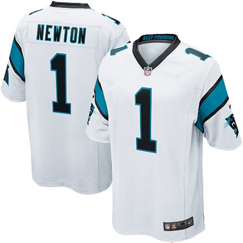 Men's Carolina Panthers Cam Newton Game Jersey White - Fan Gear Nation