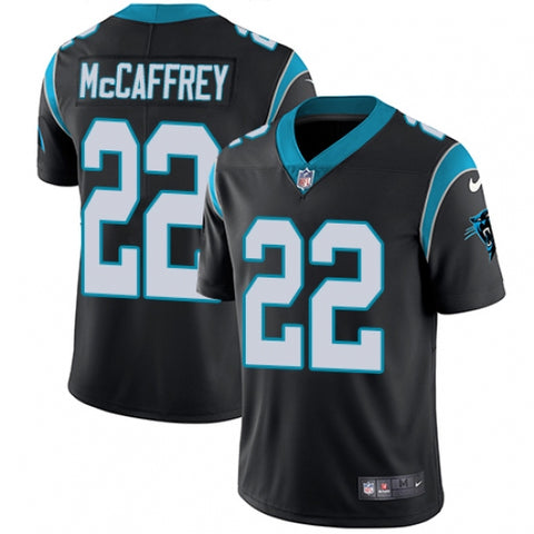 Men's Carolina Panthers Christian McCaffrey Limited Player Jersey Black - Fan Gear Nation