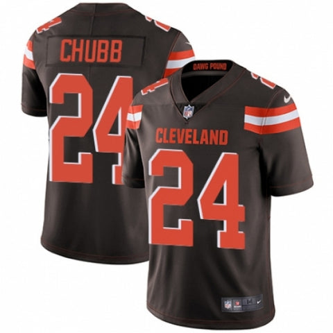 Men's Nike Cleveland Browns Nick Chubb Limited Player Jersey Brown - Fan Gear Nation
