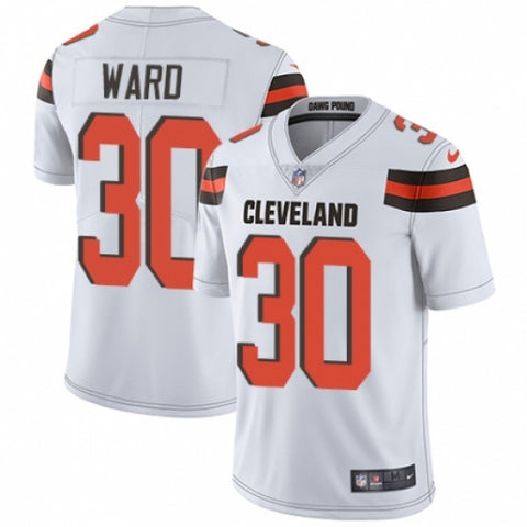 Nike Men's Cleveland Browns Denzel Ward Limited Player Jersey White - Fan Gear Nation