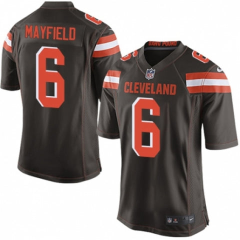 Nike Men's Cleveland Browns Baker Mayfield Game Jersey Brown - Fan Gear Nation