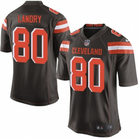 Nike Men's Cleveland Browns Jarvis Landry Game Jersey Brown - Fan Gear Nation