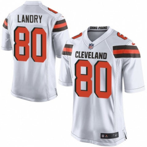 Nike Men's Cleveland Browns Jarvis Landry Game White Jersey