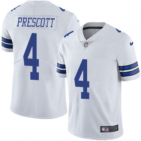 Nike Men's Dallas Cowboys Dak Prescott  Limited Player Jersey White