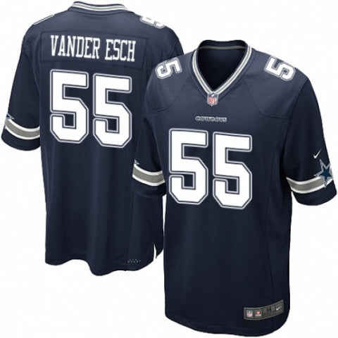 Nike Men's Dallas Cowboys Leighton Vander Esch  Game Jersey Navy Blue - Fan Gear Nation