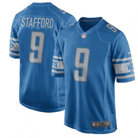 Nike Men's Detroit Lions Matthew Stafford Game Jersey Team Color NFL