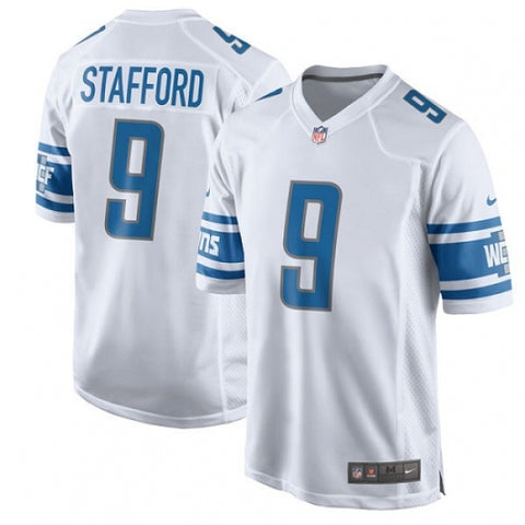 Nike Men's Detroit Lions Matthew Stafford Game Jersey White