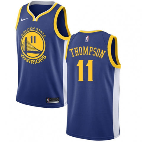 Nike Men's Golden State Warriors Klay Thompson Jersey Icon Edition Royal Blue - Fan Gear Nation