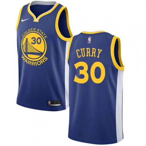 Nike Men's Golden State Warriors Stephen Curry Jersey Icon Edition Royal Blue - Fan Gear Nation