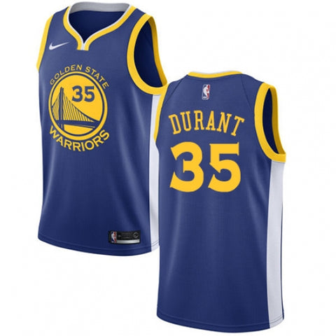 Nike Men's Golden State Warriors Kevin Durant Jersey Icon Edition Royal Blue - Fan Gear Nation