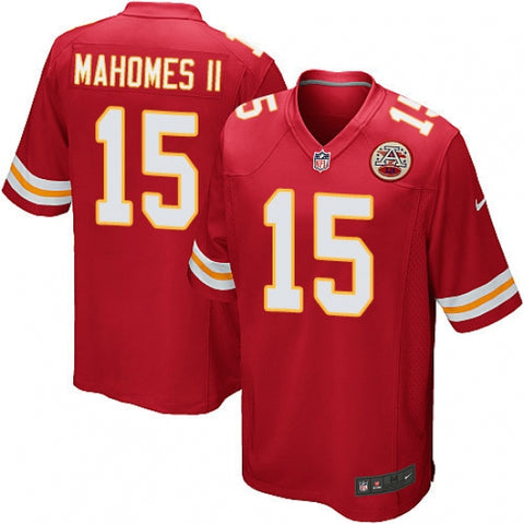 Men's Kansas City Chiefs Patrick Mahomes II Game Jersey Red - Fan Gear Nation