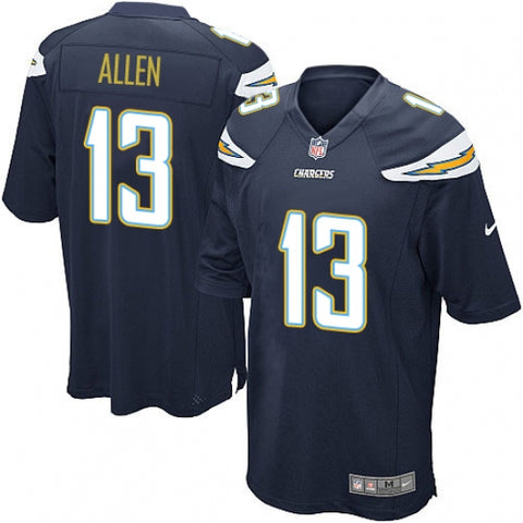 Nike Men's Los Angeles Chargers Keenan Allen Game Jersey Navy Blue