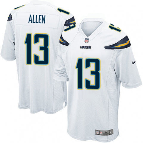 Nike Men's Los Angeles Chargers Keenan Allen Game Jersey White