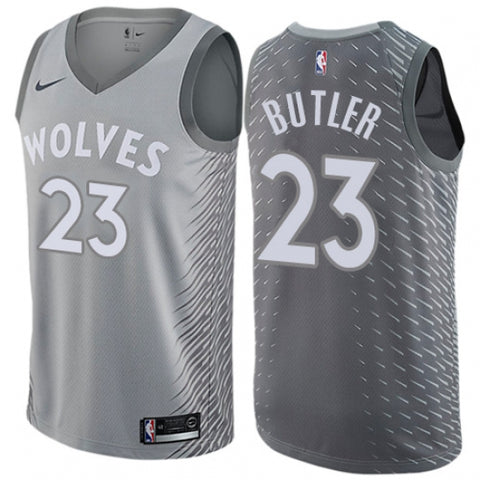 Men's Minnesota Timberwolves Jimmy Butler City Edition Jersey Cream - Fan Gear Nation