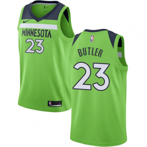 Men's Minnesota Timberwolves Jimmy Butler Jersey Statement Edition Green - Fan Gear Nation