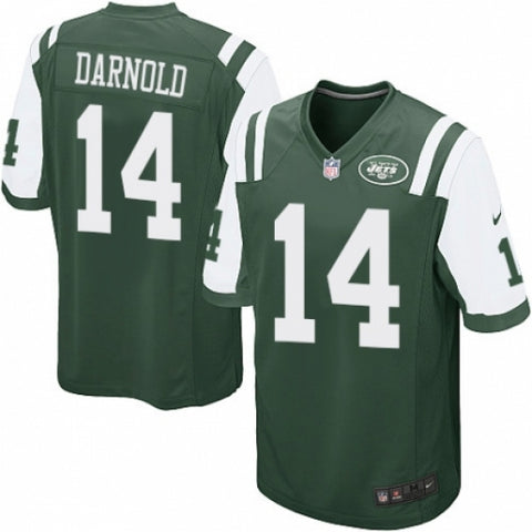 Nike Men's New York Jets Sam Darnold Game Jersey Green - Fan Gear Nation
