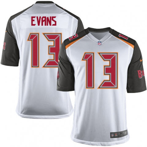 Nike Men's Tampa Bay Buccaneers Mike Evans Game Jersey White