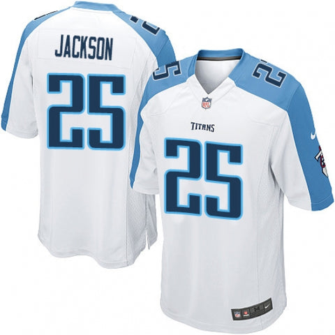 Men's Tennessee Titans Adoree' Jackson Game Jersey White - Fan Gear Nation