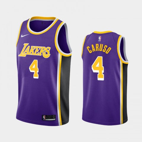 Mens Los Angeles Lakers Alex Caruso Statement Jersey Purple - Fan Gear Nation