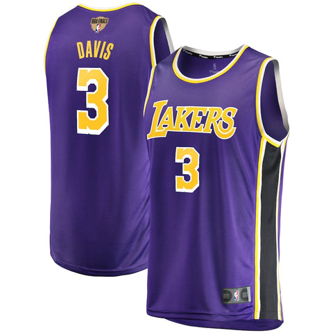 Mens Los Angeles Lakers Anthony Davis Statement Jersey Purple - Fan Gear Nation