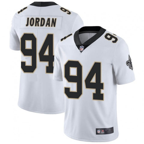 Mens New Orleans Saints Cam Jordan Vapor Jersey White - Fan Gear Nation