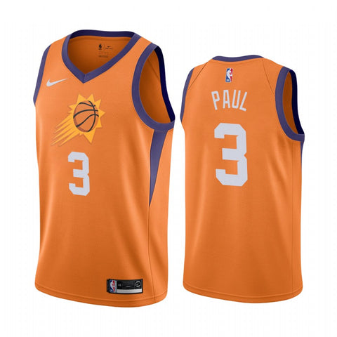 Mens Phoenix Suns Chris Paul Statement Jersey Orange