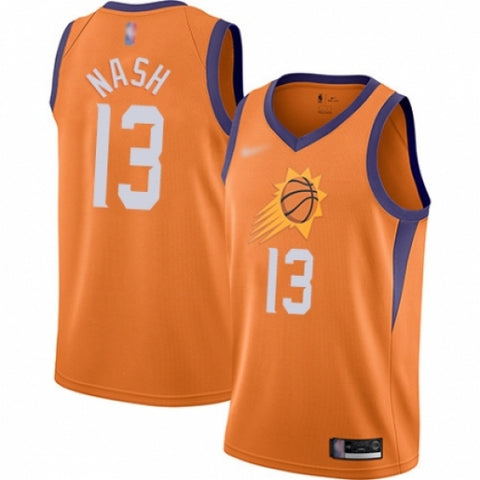 Mens Phoenix Suns Steve Nash Statement Jersey Orange