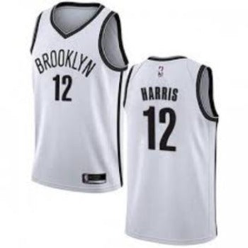 Mens Brooklyn Nets Joe Harris ICon Jersey White - Fan Gear Nation