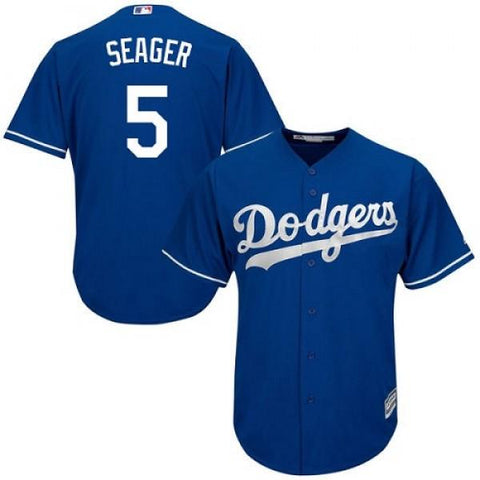 Mens Los Angeles Dodgers Corey Seager Cool Base Replica Jersey Royal Blue - Fan Gear Nation