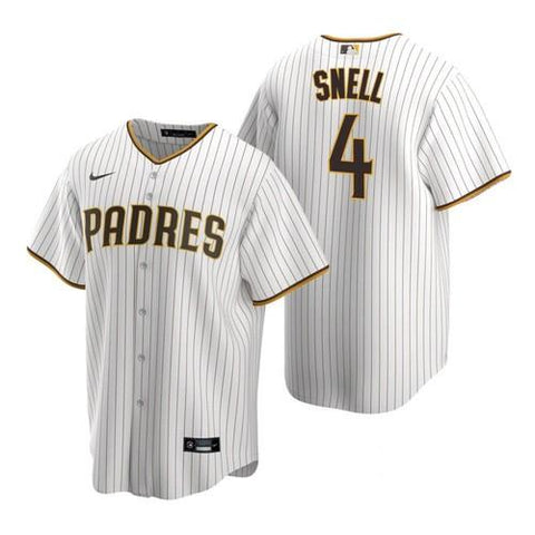 Mens San Diego Padres Blake Snell Cool Base Replica Jersey White - Fan Gear Nation