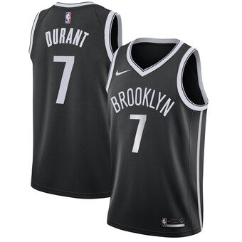 Men's Brooklyn Nets Kevin Durant Icon Edition Jersey Black - Fan Gear Nation