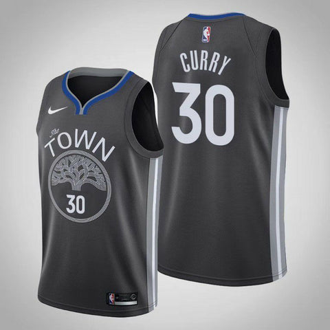 Men's Golden State Warriors Stephen Curry City Edition Black - Fan Gear Nation