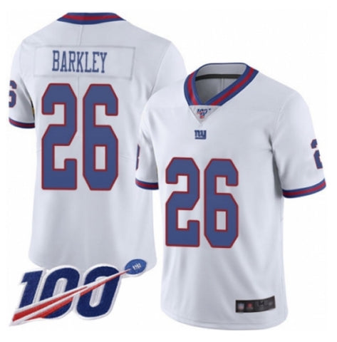 Nike Saquon Barkley New York Giants Stitched Jersey White - Fan Gear Nation