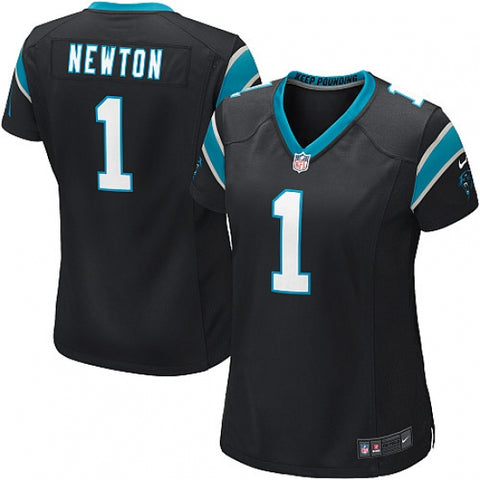 Nike Women's Carolina Panthers Cam Newton Game Jersey Black