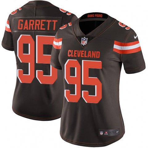Nike Women's Cleveland Browns Myles Garrett Limited Player Jersey Brown
