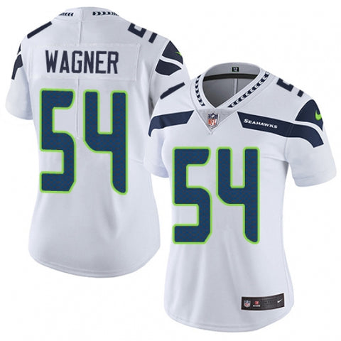 Nike Women's Seattle Seahawks Bobby Wagner Limited Player Jersey White - Fan Gear Nation