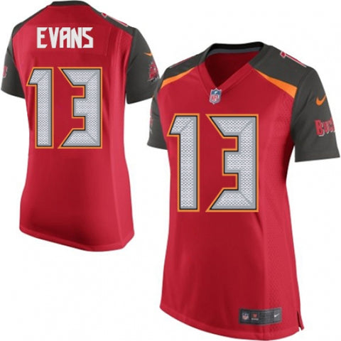 Nike Women's Tampa Bay Buccaneers Mike Evans Game Jersey Red