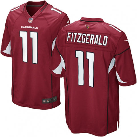 Nike Youth Arizona Cardinals Larry Fitzgerald Game Jersey Red